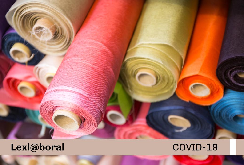 Protocolo Sanitario de Operación ante el Covid-19 del sector textil y confecciones