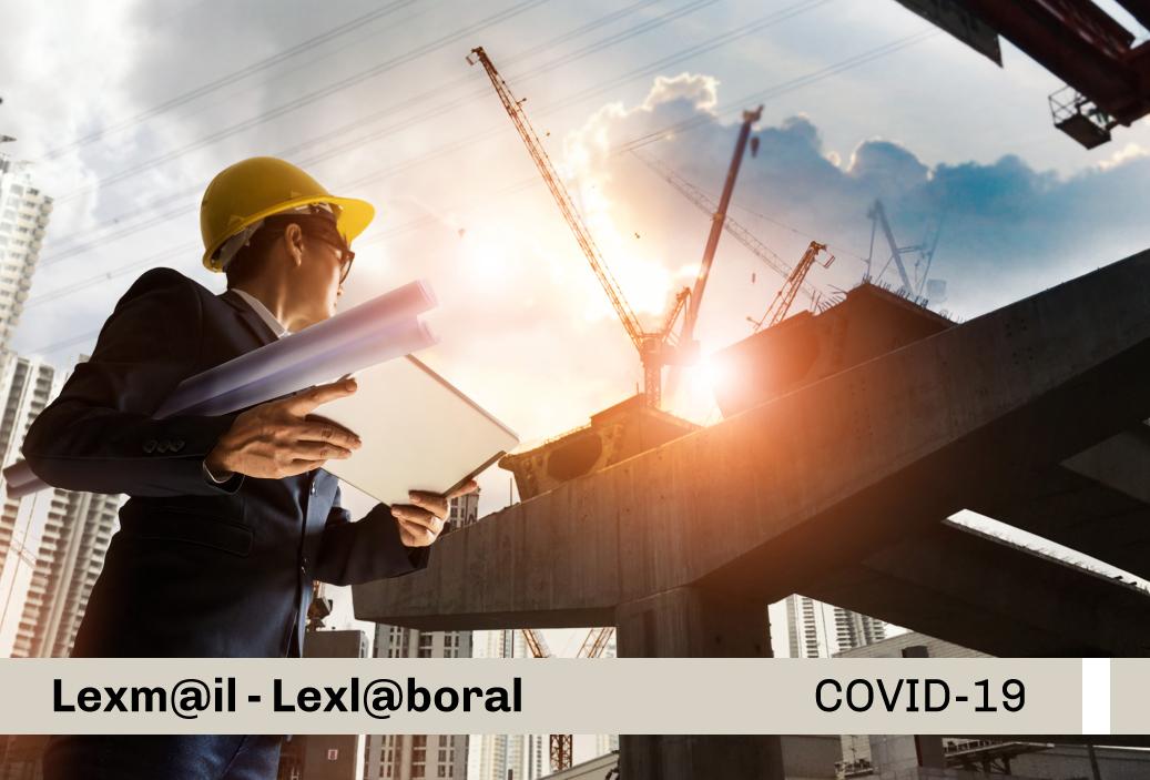 Protocolo Sanitario Sectorial para la prevención del COVID-19, en los contratos de consultoría de obras