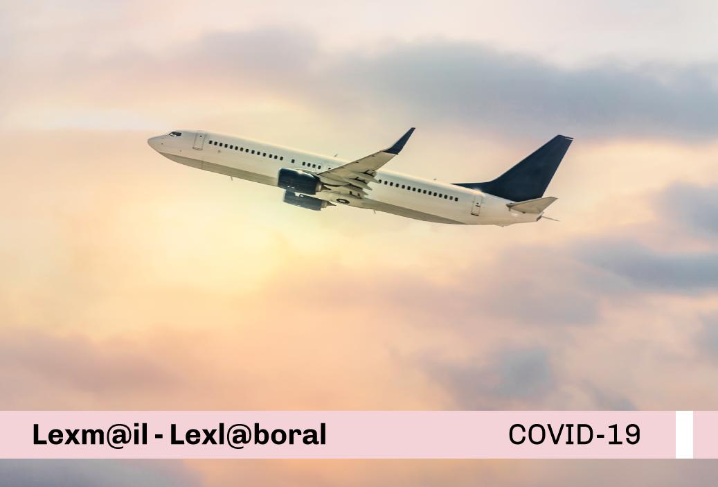 Protocolo Sanitario Sectorial para la prevención del COVID-19, para los servicios de transporte aéreo especial, trabajo aéreo y otras actividades conexas de aeronáutica civil