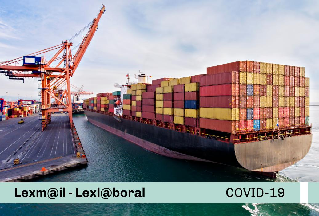 Protocolo Sanitario Sectorial para la prevención del COVID-19, en el transporte acuático, fluvial de carga y mercancías y actividades conexas en el ámbito internacional, nacional y regional