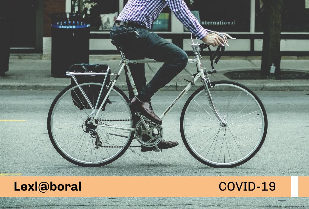 Medidas laborales para promoción del uso de la bicicleta en los centros de trabajo