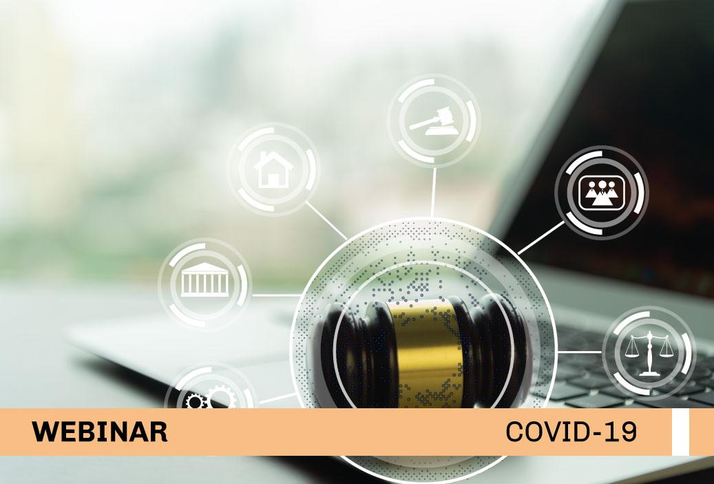 Video del Webinar: «COVID-19: El uso de las nuevas tecnologías en el litigio judicial»