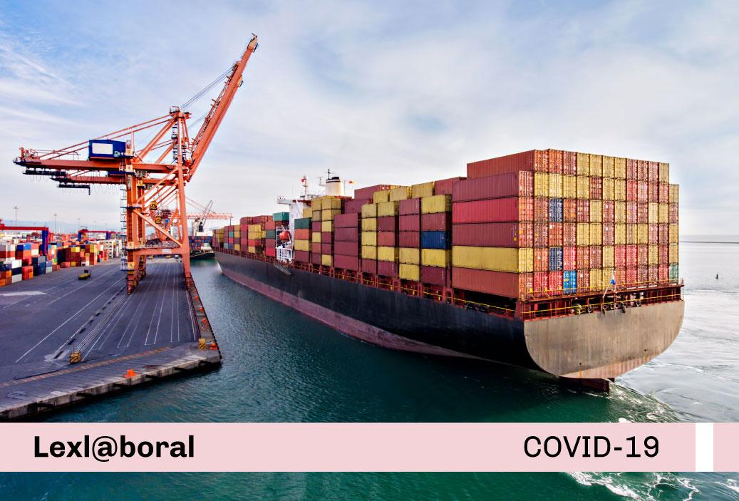 Lineamientos obligatorios para prevenir y controlar el contagio del COVID-19 en las instalaciones portuarias