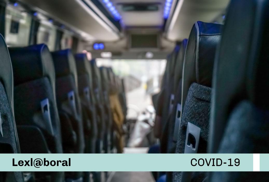 Nuevo Protocolo sectorial para la prevención del COVID-19 en el servicio de transporte terrestre de trabajadores