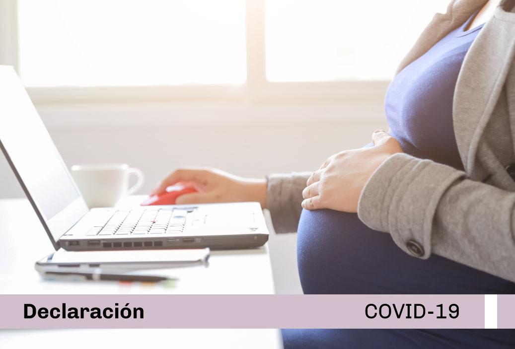 Shirley Quino declaró para nota de El Comercio: «Dictan ley que busca la protección en el trabajo para mujeres gestantes y madres lactantes, ¿qué alcances tiene?»
