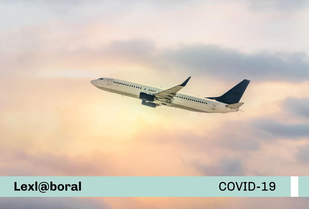 Lineamientos sectoriales para la prevención del COVID-19 en el transporte aéreo internacional de pasajeros