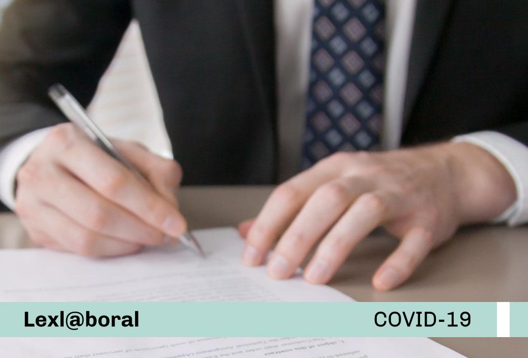 Suspensión perfecta de labores: Disposiciones para la modificación del plazo de duración