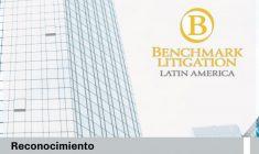 Fuimos reconocidos por Benchmark Litigation en Solución de Controversias (Litigios y Arbitrajes)