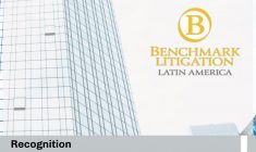 We were recognized by Benchmark Litigation in Dispute Resolution (Litigation and Arbitration)
