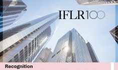 We have been recognized as leaders in Capital Markets: Debt in the recent IFLR1000 ranking