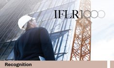 Once again we have been recognized in Project Development and Project Development: Mining by IFLR1000