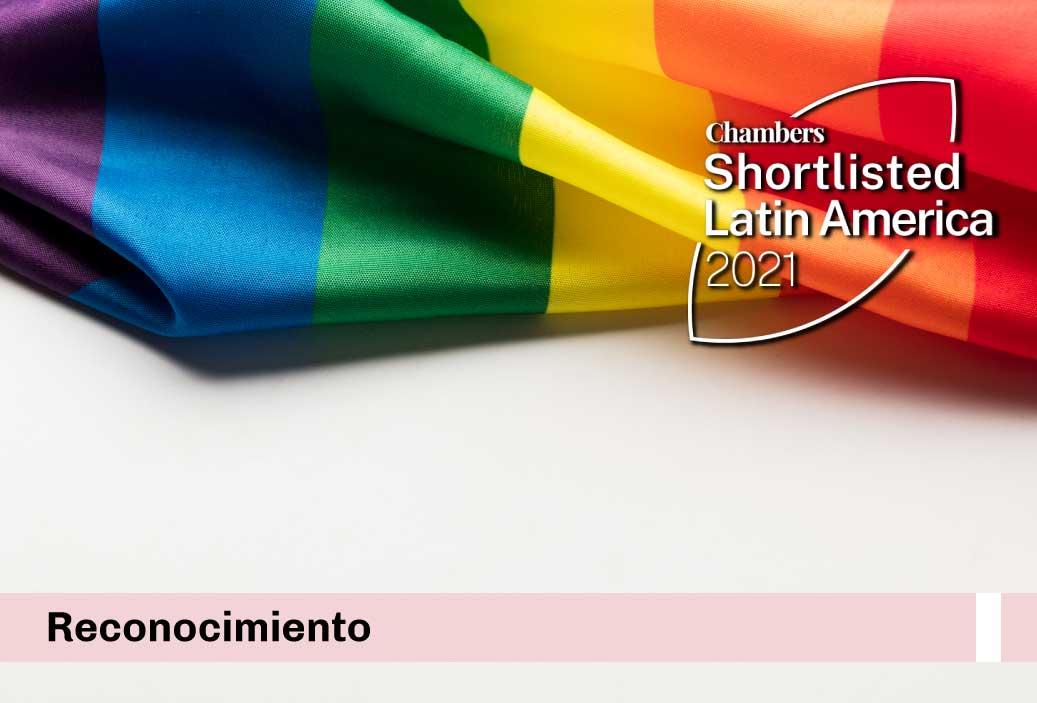 """Somos la única firma de abogados del Perú nominada en los """"Chambers Diversity & Inclusion Awards: Latin America 2021"""""""