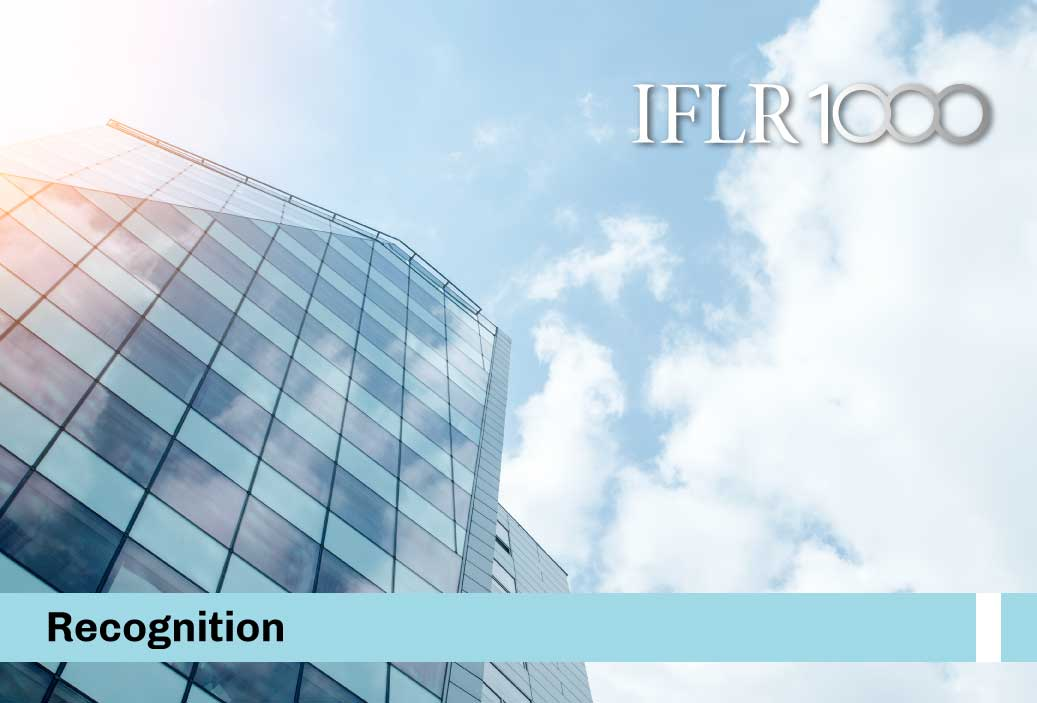 Once again we have been recognized in Banking by IFLR1000